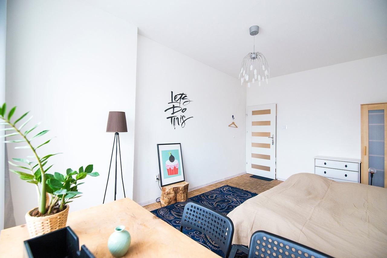 Petit espace : aménager une chambre dans la pièce principale