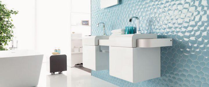 Salle de bain : les différents types de revêtement mural