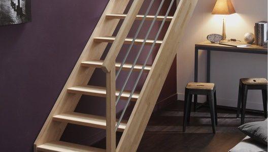 comment calculer les marches d'un escalier droit